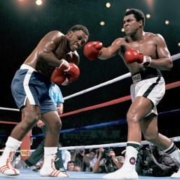 Raskaansarjan mestari Muhammad Ali kuvaa, taustakuva
