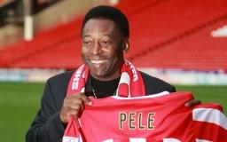 Kuuluisa jalkapalloilija Pelé kuva
