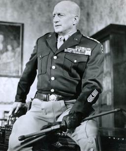 Yhdysvaltain armeijan komentaja George Smith Patton (Kuva 1)