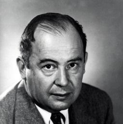 John von Neumann kuvaa, taustakuva