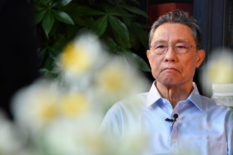 Akateemikko Zhong Nanshan (kuva 1)