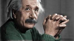 Fyysikko Albert Einstein kuvaa, taustakuva